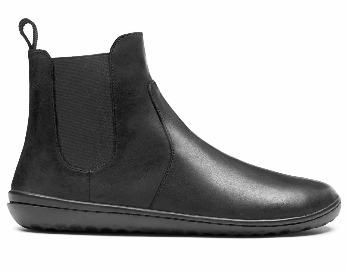 Vivobarefoot FULHAM L Leather Black ()