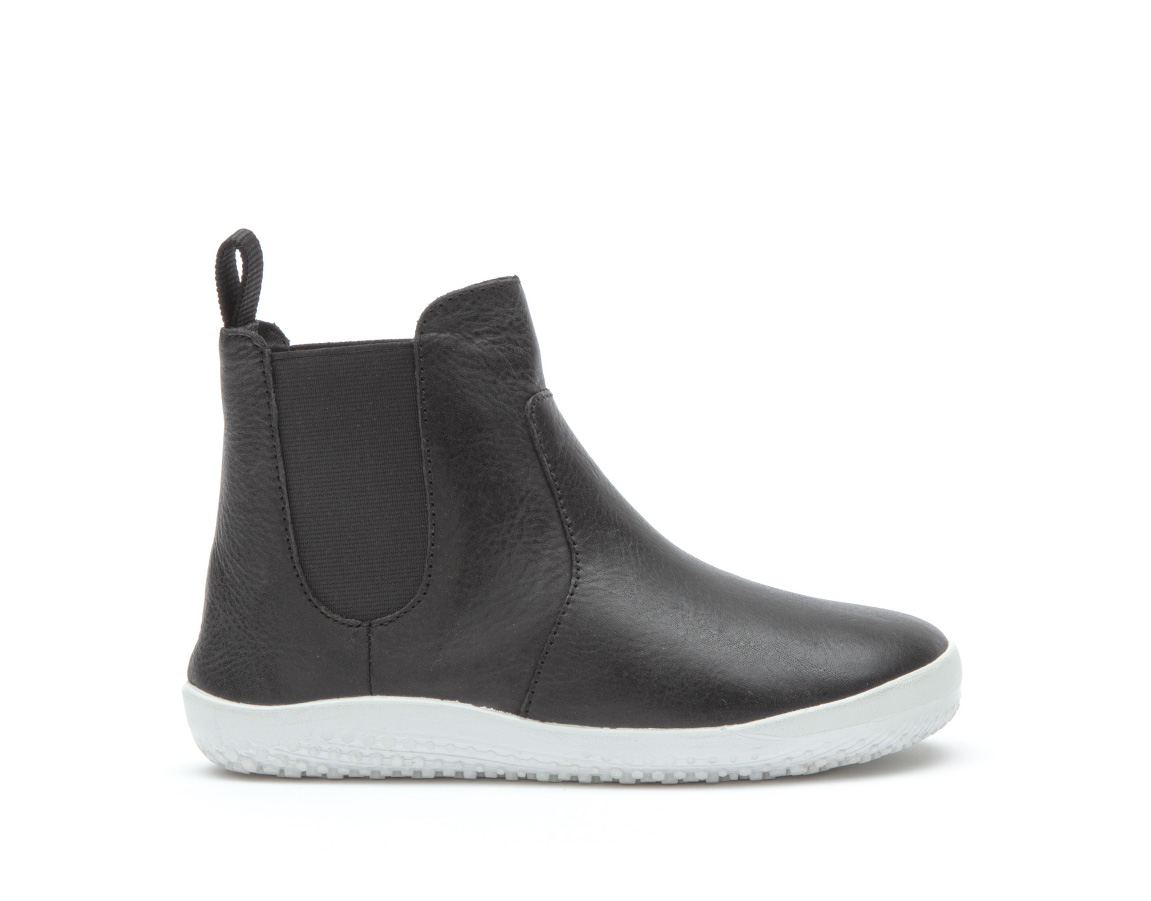 Vivobarefoot FULHAM K Leather Black ()
