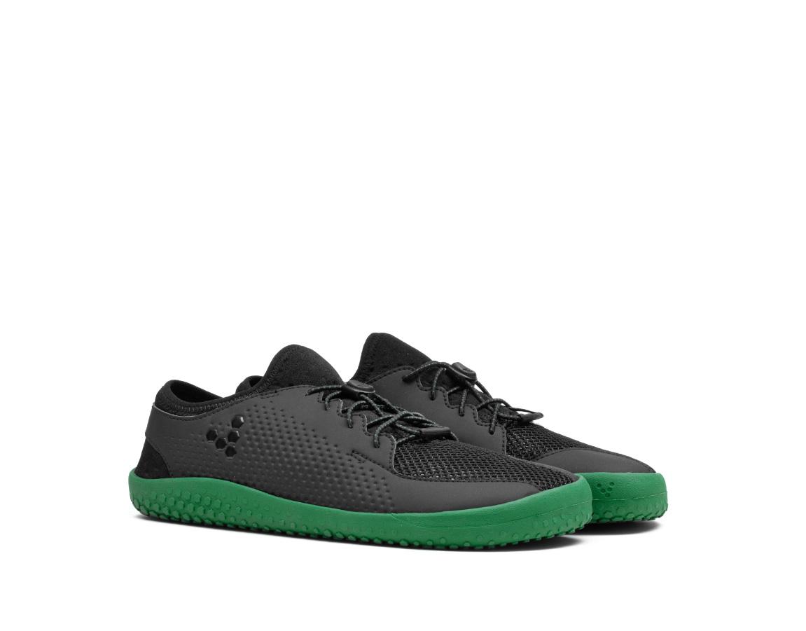 Vivobarefoot PRIMUS J Mesh Black/Green ()
