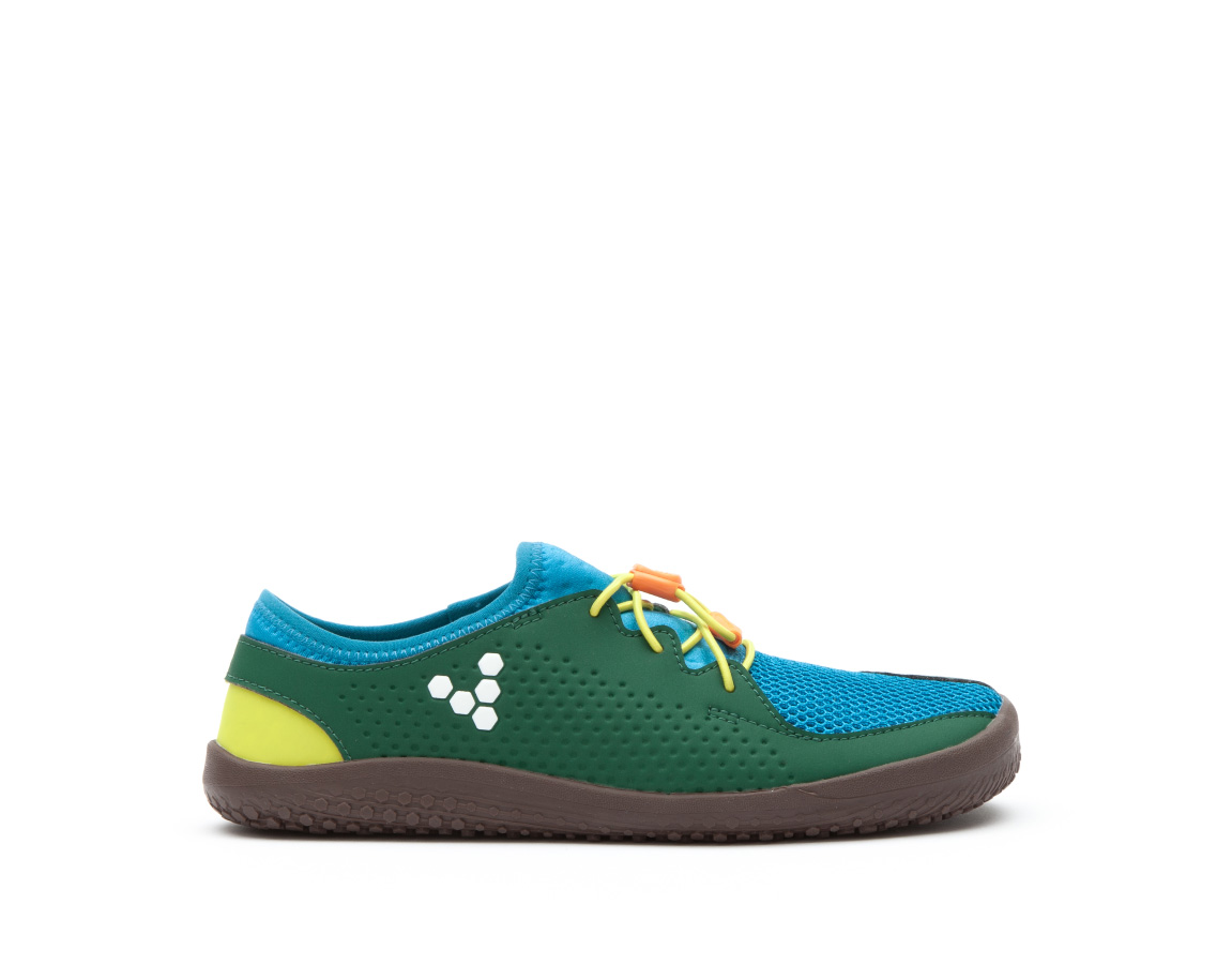 Vivobarefoot PRIMUS COLOUR KIDS K Blue/Green/Yellow