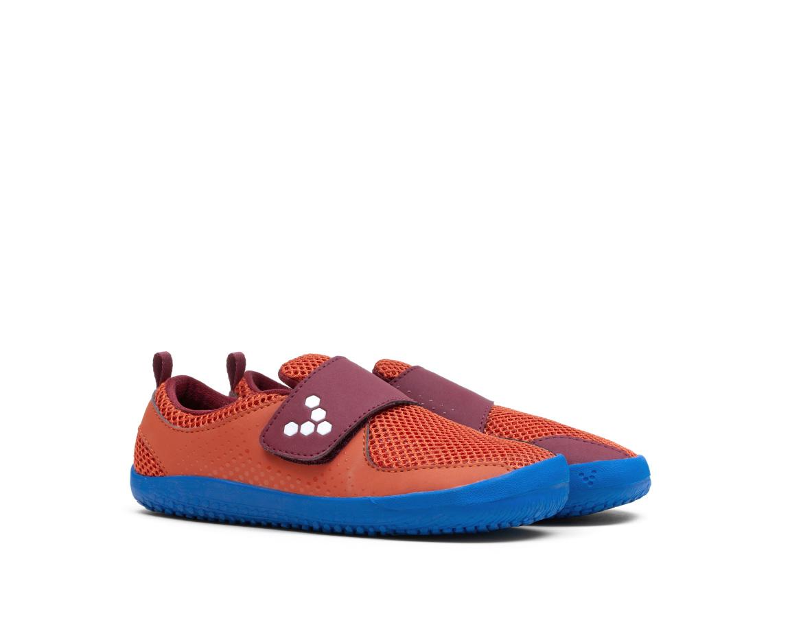 Vivobarefoot PRIMUS KIDS K Terracotta/Blue ()