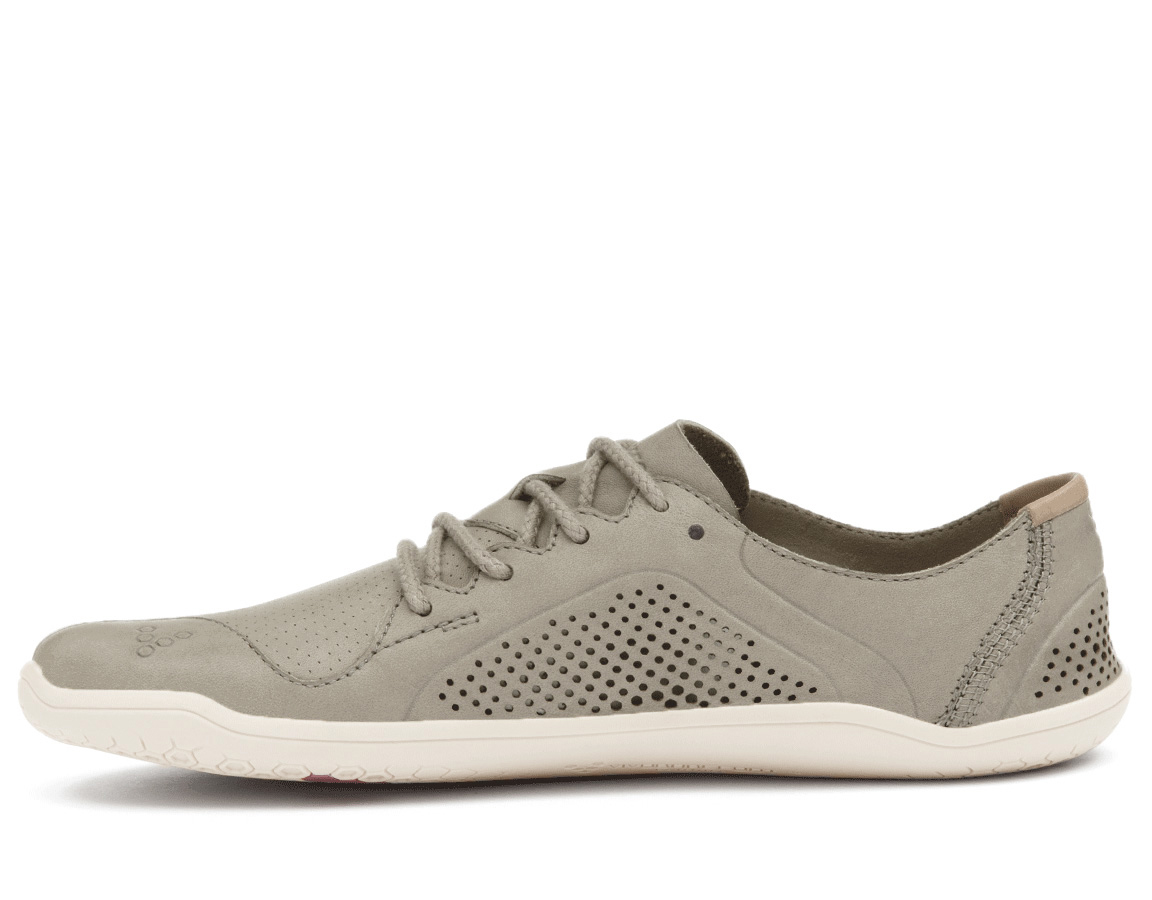 Vivobarefoot PRIMUS LUX L Leather Light Grey ()