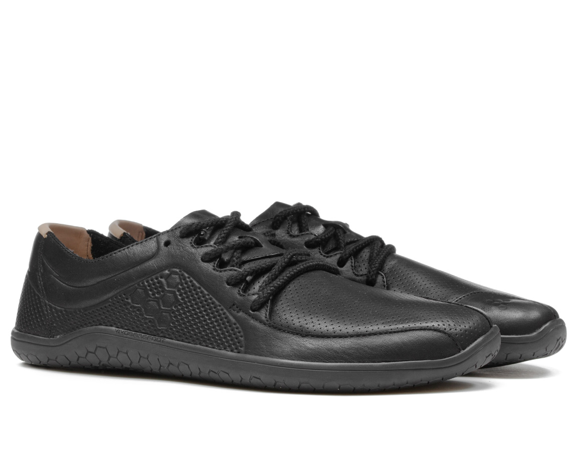 Vivobarefoot PRIMUS LUX LINED L Leather Black ()