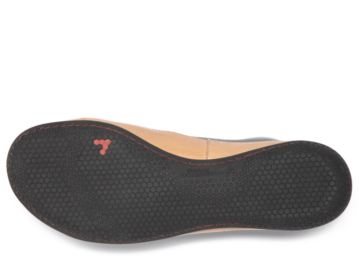 Vivobarefoot BANNISTER 2 L Leather Black ()
