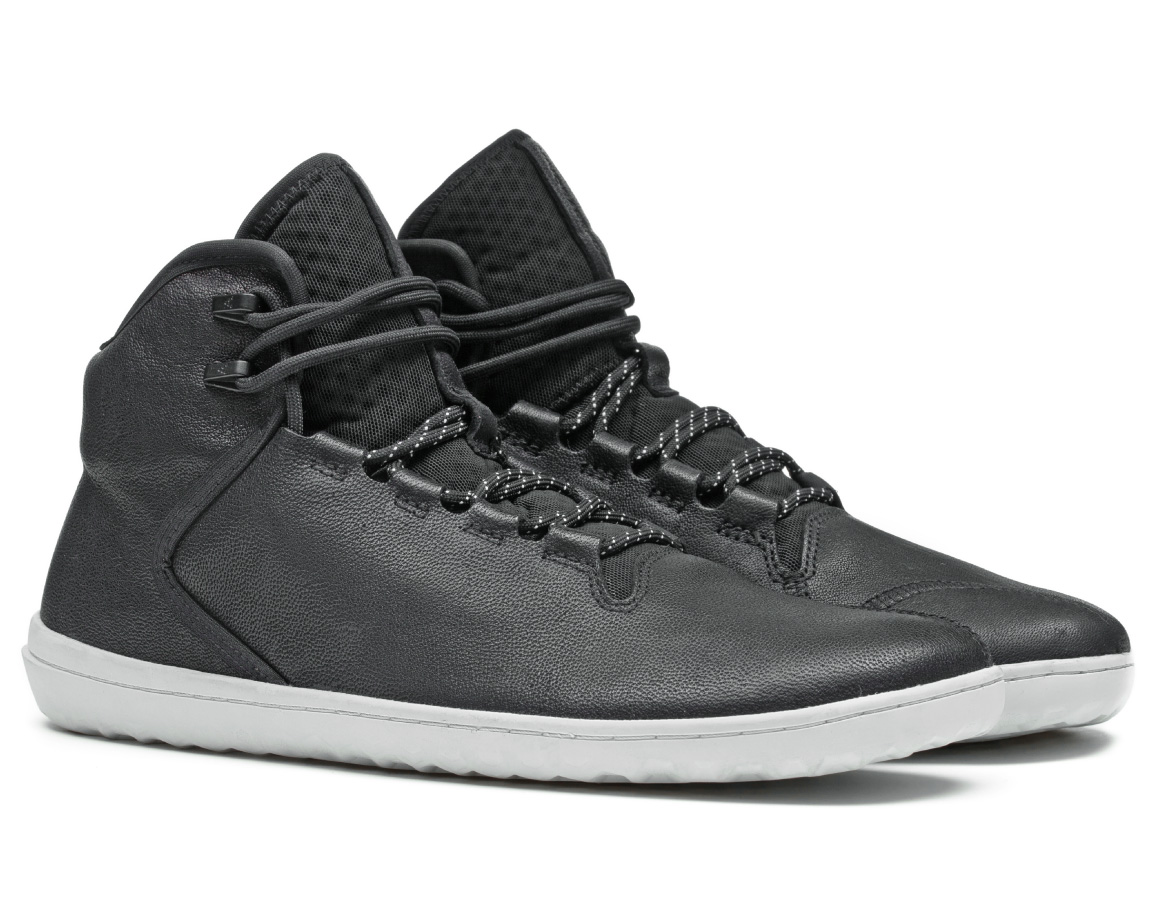 Vivobarefoot BOROUGH M Leather Black ()