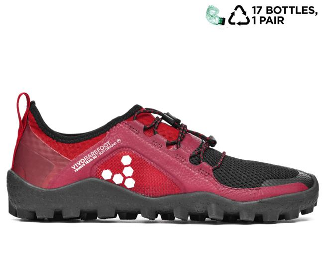 Vivobarefoot  PRIMUS TRAIL SG L Mesh Black/Red