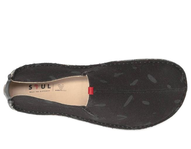 Vivobarefoot ABABA M Canvas Swipe Black ()