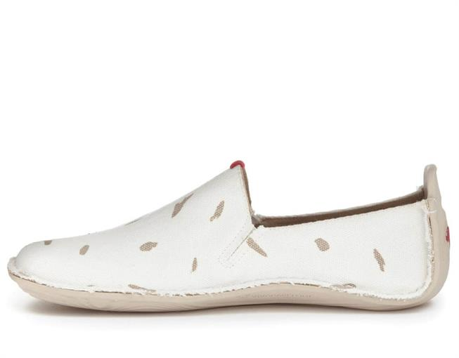 Vivobarefoot ABABA L Canvas Swipe White ()