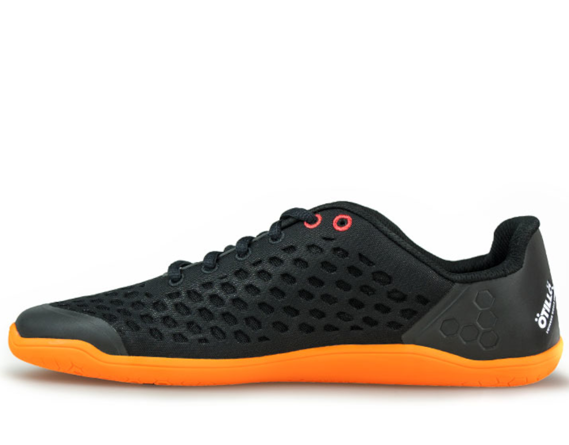 Vivobarefoot STEALTH 2 Ötillö M BR Black/Orange ()