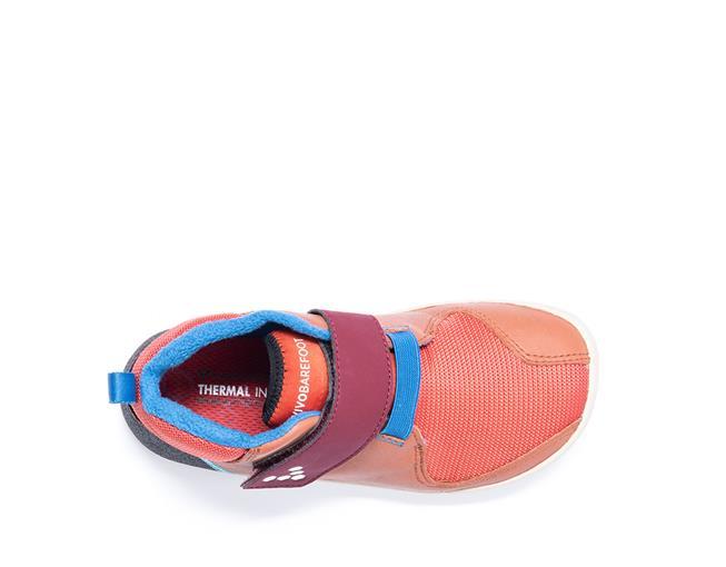 Vivobarefoot PRIMUS BOOTIE K Leather Terracotta ()