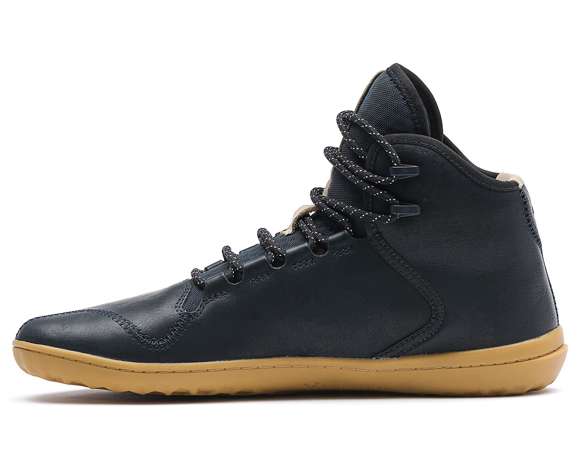 Vivobarefoot BOROUGH M Leather Indigo ()