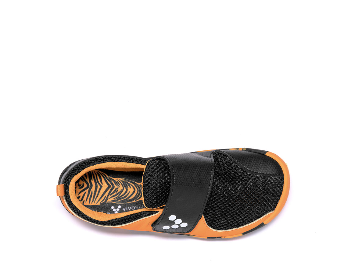 Vivobarefoot PRIMUS KIDS K Tiger Orange/Black ()