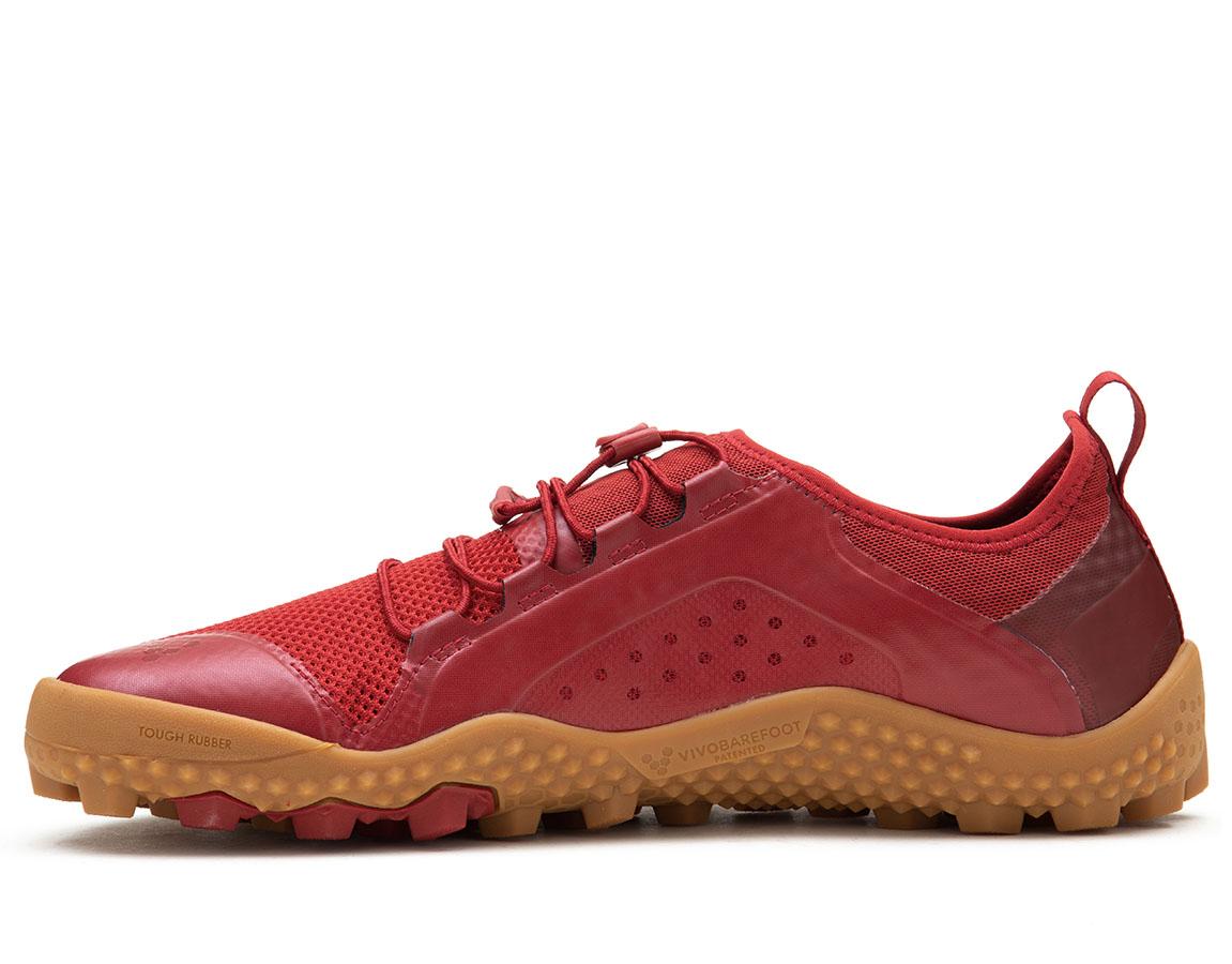 Vivobarefoot PRIMUS TRAIL SG L Mesh Red/Gum ()
