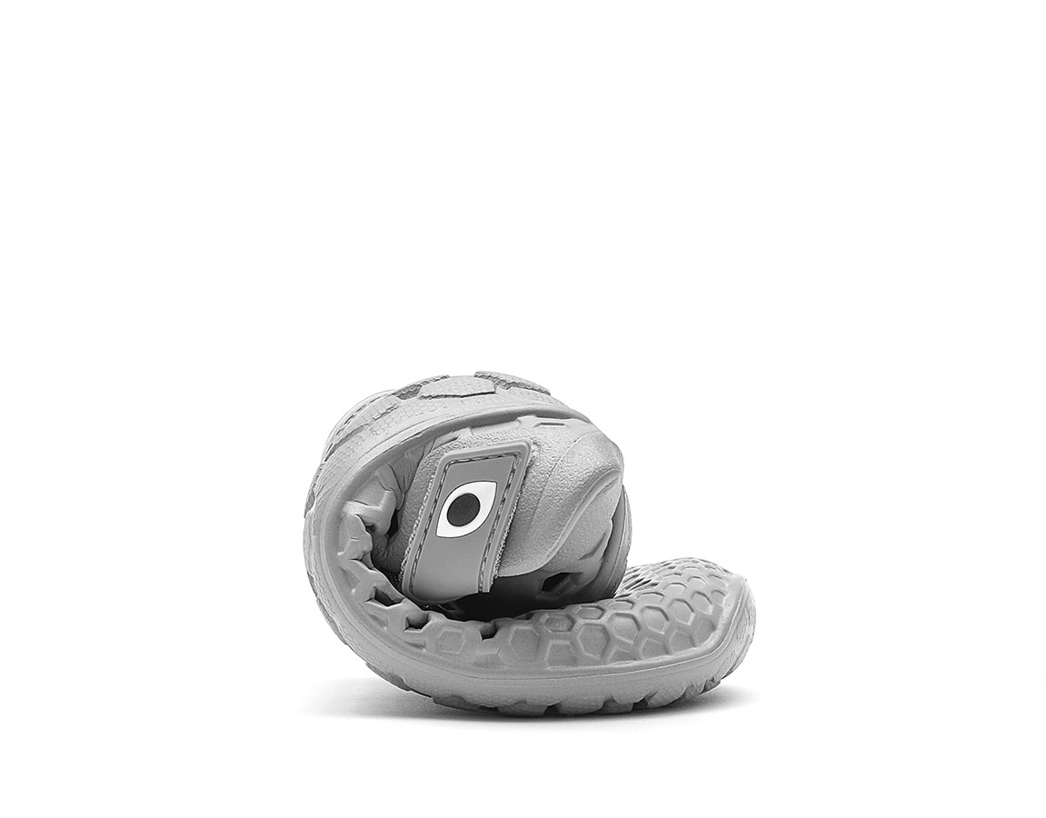 Vivobarefoot ULTRA K BLOOM Grey Dolphin ()