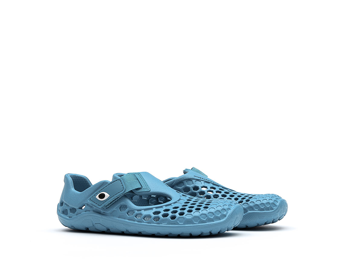 Vivobarefoot ULTRA K BLOOM Petrol Blue Shark ()