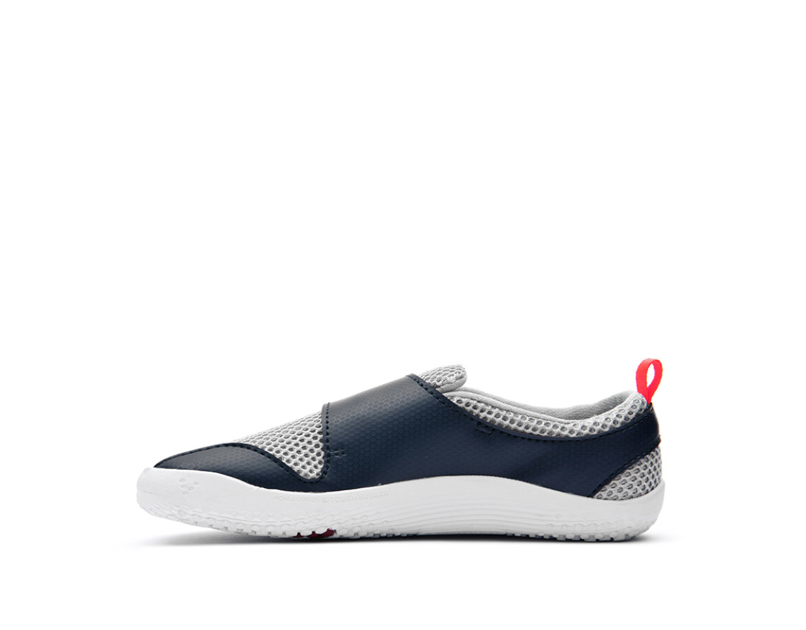 VIVOBAREFOOT PRIMUS KIDS Grey Navy Orange Textile ()
