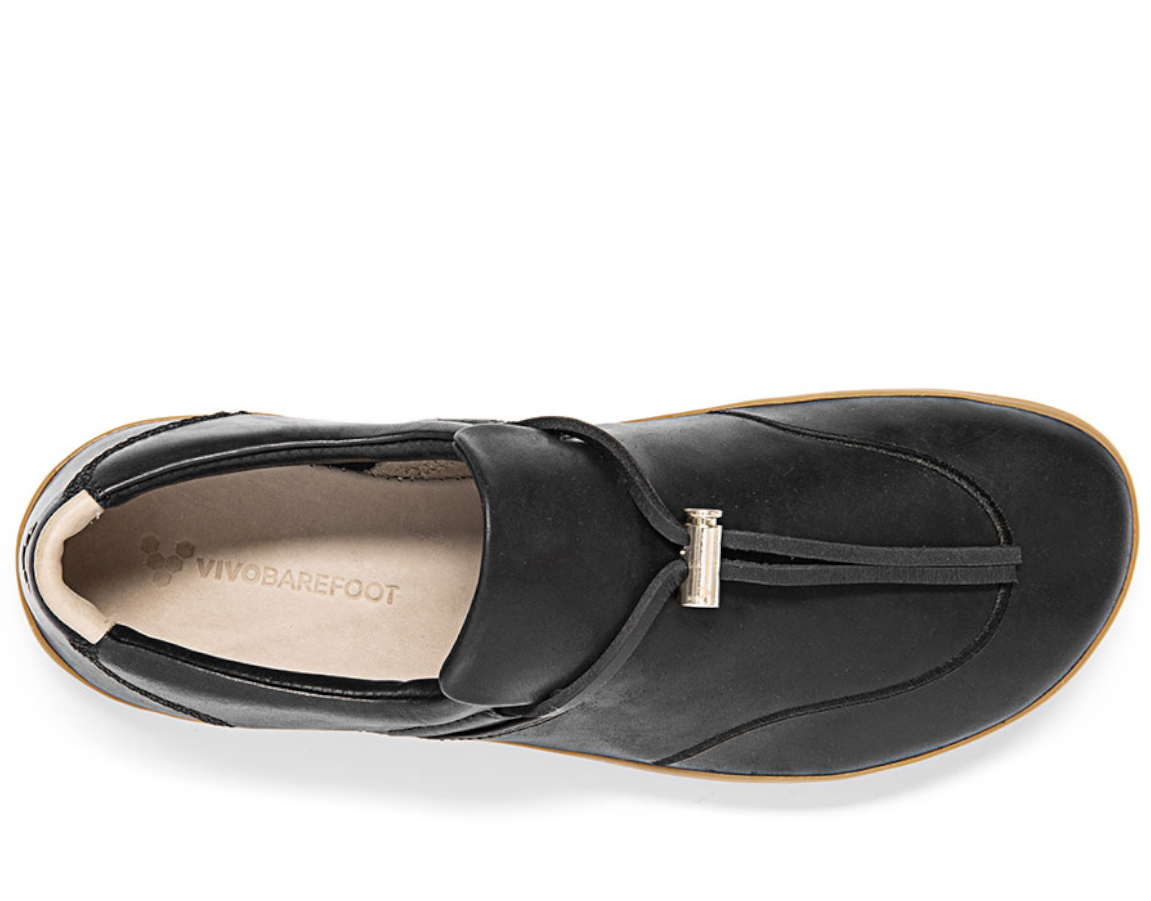 VIVOBAREFOOT RA SLIP ON L Black Leather ()