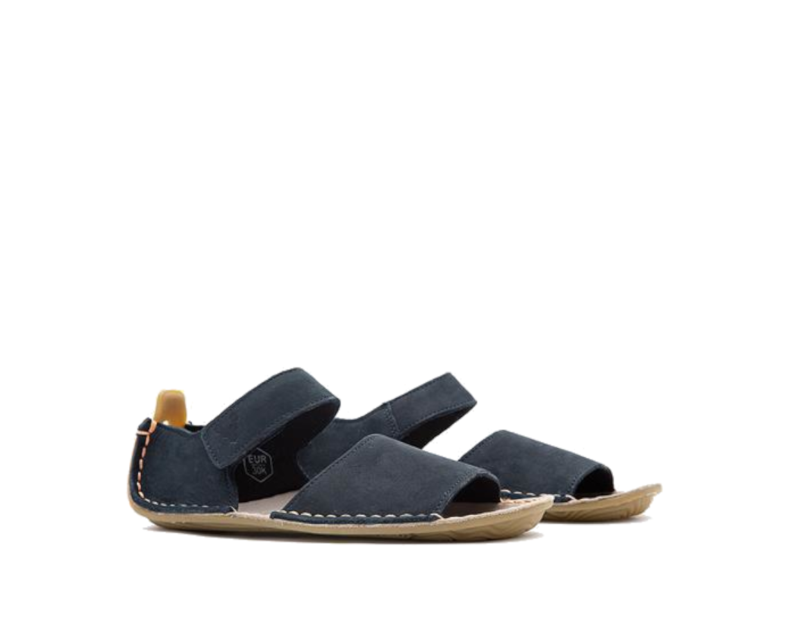 VIVOBAREFOOT ABABA K Sandal Leather Navy ()