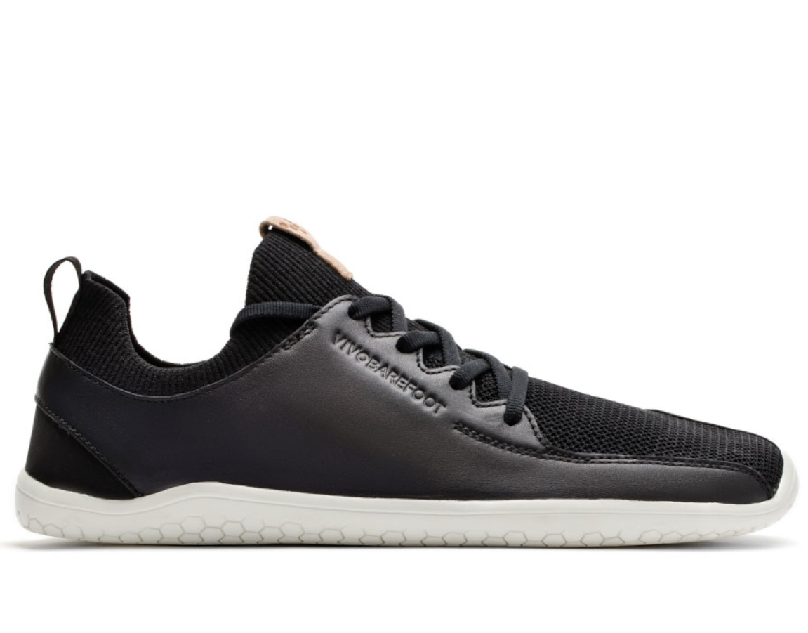 Vivobarefoot PRIMUS KNIT L Black Leather ()
