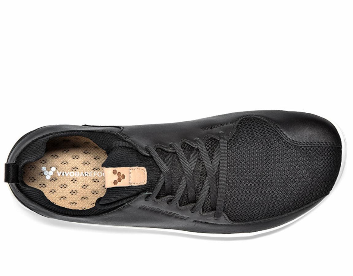 Vivobarefoot PRIMUS KNIT L Black Leather ()