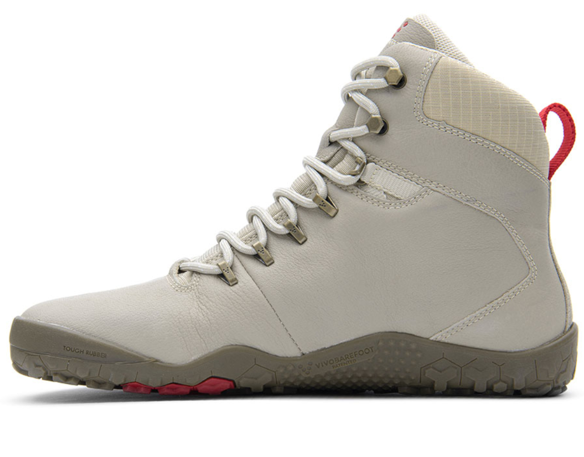 Vivobarefoot TRACKER FG L Cement Cream Leather ()