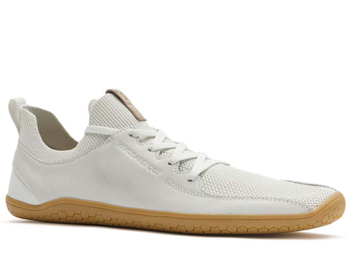 Vivobarefoot PRIMUS KNIT L Vap Grey Leather ()