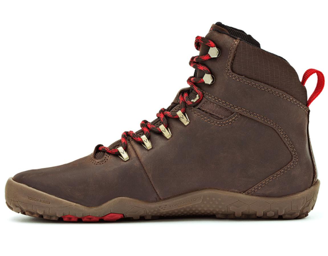 Vivobarefoot TRACKER FG L Leather Dk Brown ()