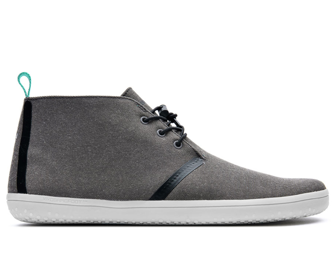 Vivobarefoot GOBI II M Dark Gull Grey Canvas