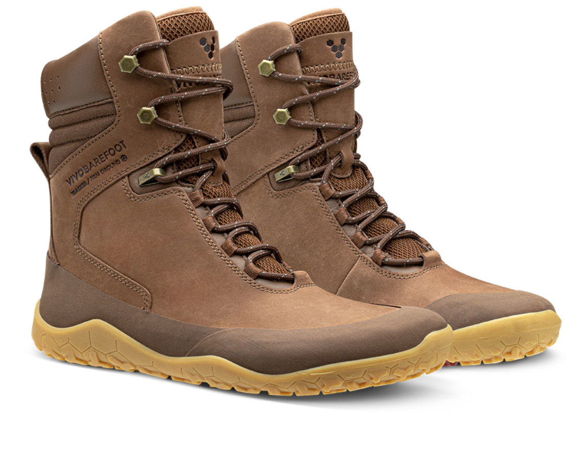 Vivobarefoot TRACKER HI FG W BROWN ()