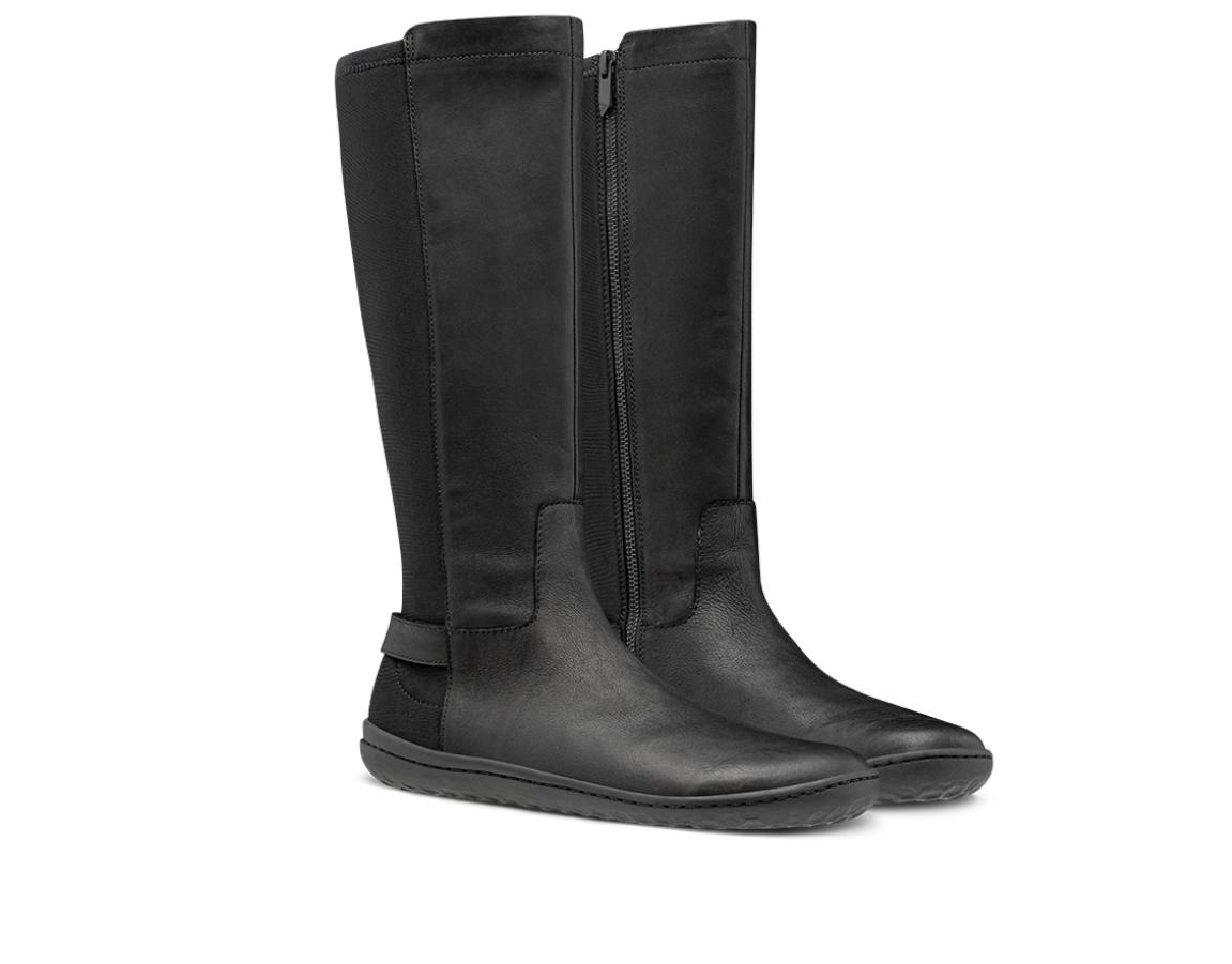Vivobarefoot RYDER L Leather Black ()