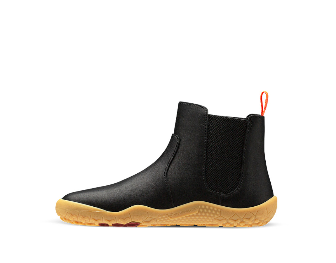 Vivobarefoot FULHAM K Black leather ()