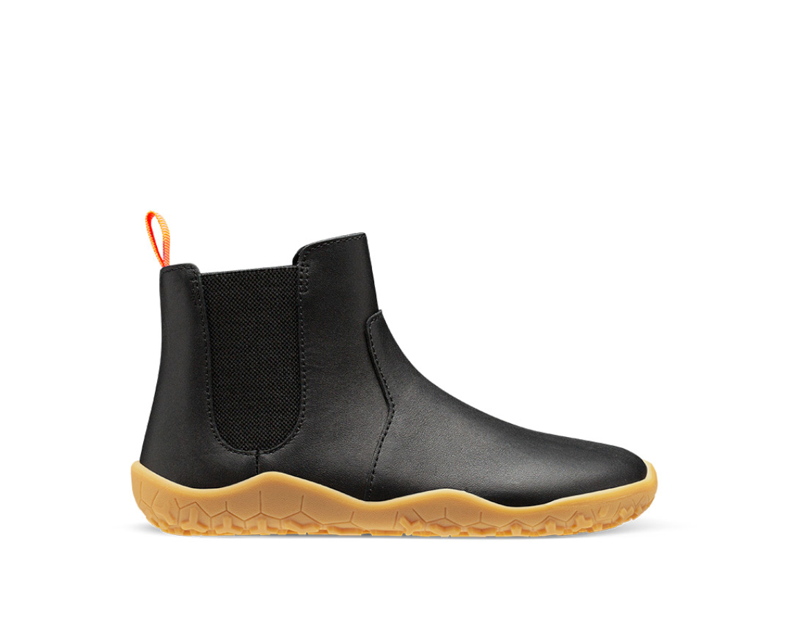 Vivobarefoot  FULHAM J Black Leather
