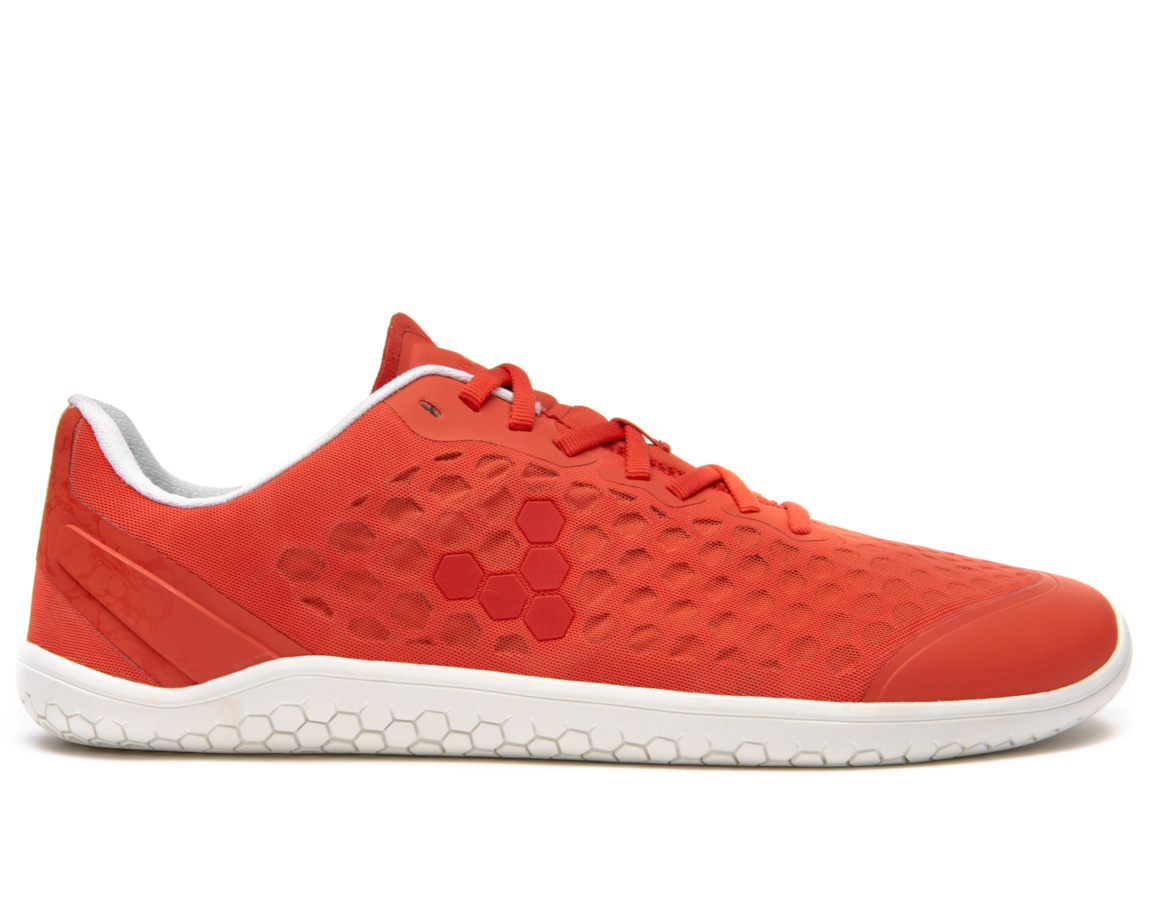 Vivobarefoot STEALTH III L Firecracker Orange Textile ()