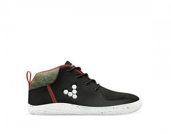 Vivobarefoot PRIMUS BOOTIE ALL WEATHER JNR OBSIDIAN