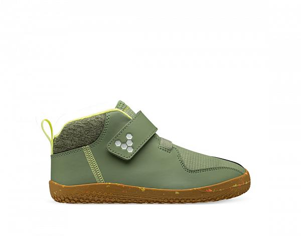 Vivobarefoot PRIMUS BOOTIE ALL WEATHER KIDS SEAWEED
