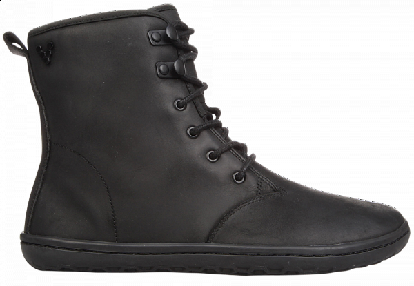 Vivobarefoot  GOBI HI TOP L Leather Black