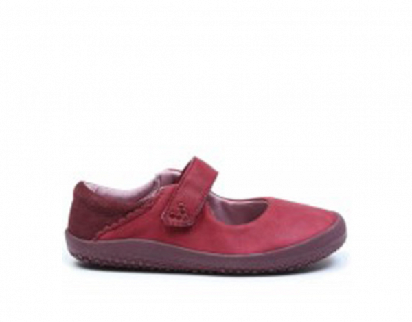 Vivobarefoot  WYN K Leather Burgundy