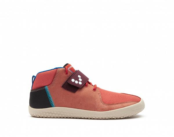 Vivobarefoot PRIMUS BOOTIE J Leather Terracotta