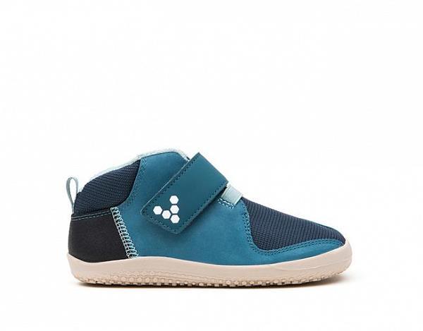 ... Vivobarefoot PRIMUS BOOTIE K Leather Indigo 7cad71ae27