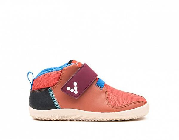 Vivobarefoot PRIMUS BOOTIE K Leather Terracotta