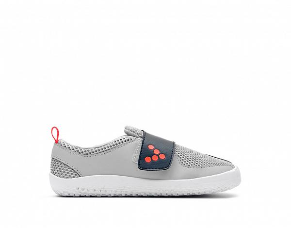 VIVOBAREFOOT PRIMUS KIDS Grey Navy Orange Textile
