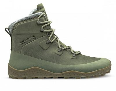Vivobarefoot  TRACKER SNOW SG M DUSTY OLIVE GREEN