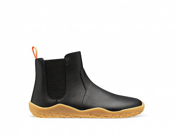 Vivobarefoot FULHAM K Black leather