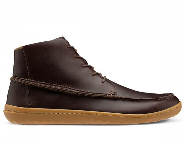 Vivobarefoot GOBI MOCC M DARK BROWN