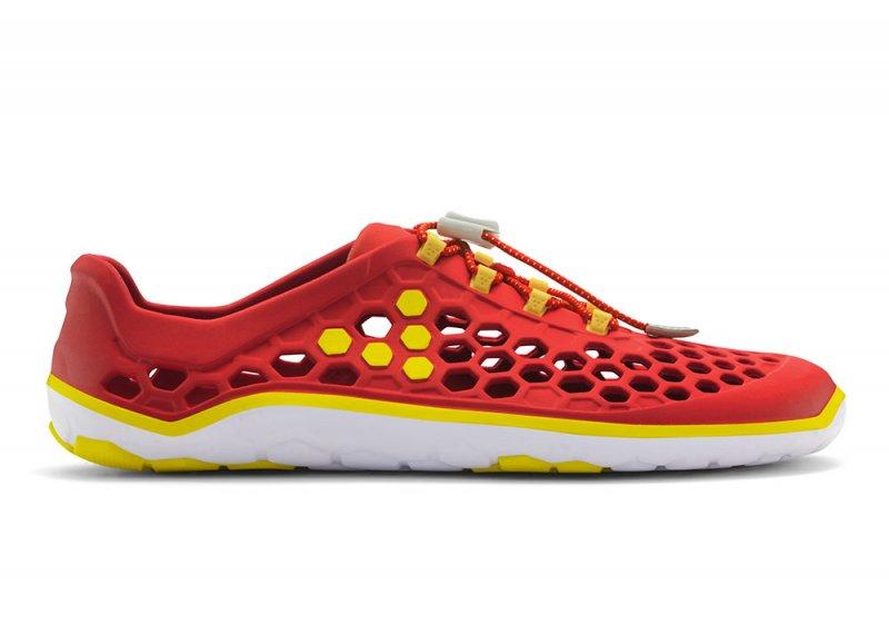 Vivobarefoot ULTRA II M EVA Red/Yellow (1)