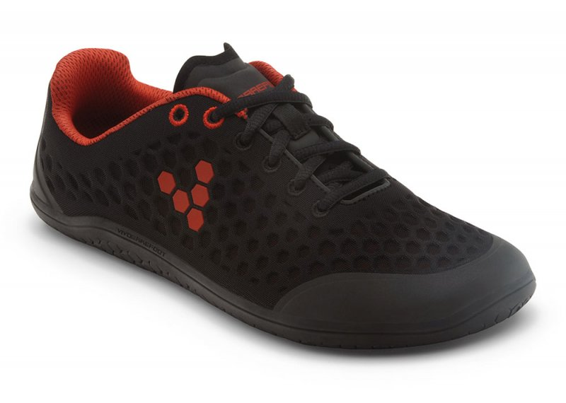 Vivobarefoot STEALTH 2 M BR Black/Red (2)