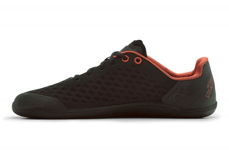 Vivobarefoot STEALTH 2 M BR Black/Red (4)