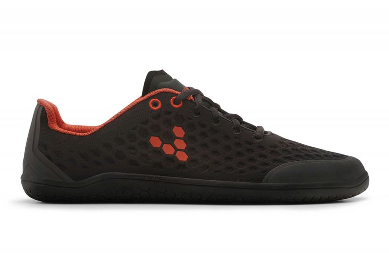 Vivobarefoot STEALTH 2 M BR Black/Red (1)