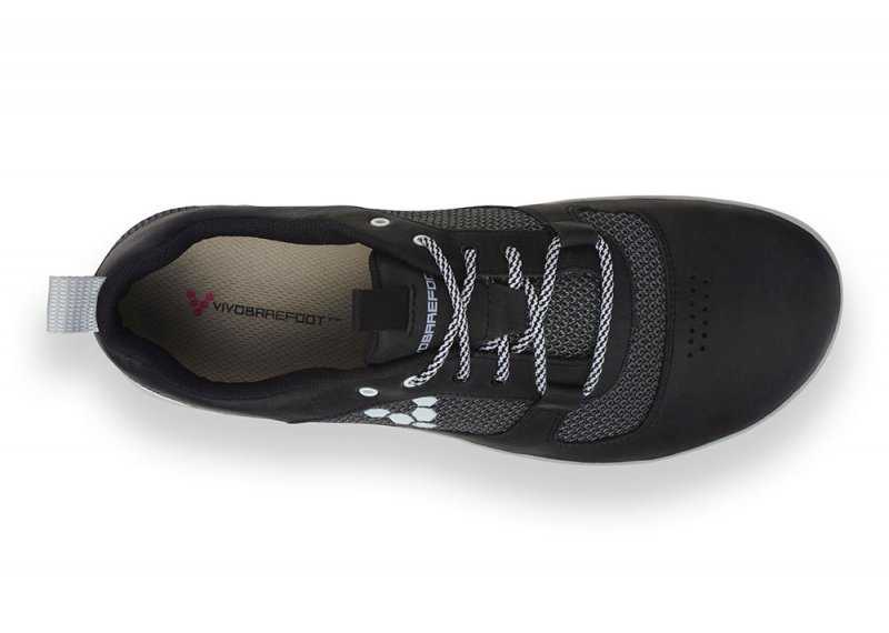 Vivobarefoot AQUA 2 M Leather Black (6)