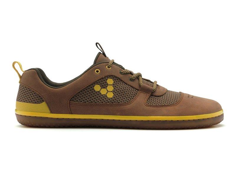 Vivobarefoot AQUA 2 M Leather Dk Brown (1)